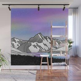 Aoraki Mount Cook Wall Mural