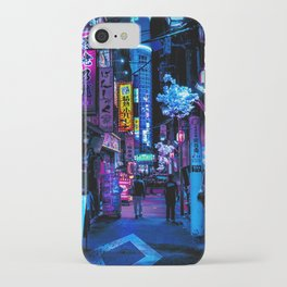 Tokyo's Blade Runner Vibes iPhone Case