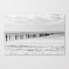 Sand Pillars Canvas Print