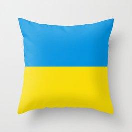 flag of  Niederösterreich or lower austria Throw Pillow