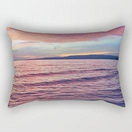 Silent sunrise Rectangular Pillow