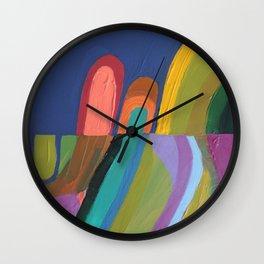 les petits chemins Wall Clock