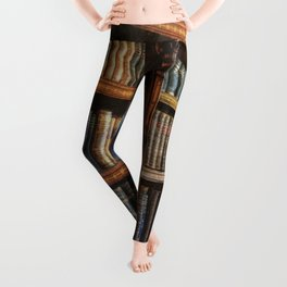 Knowledge - Antique Books on History & Law Leggings