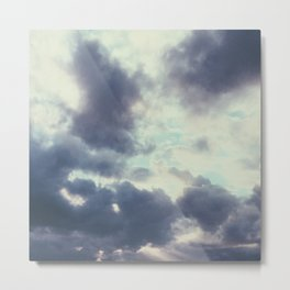 Cloud formation Metal Print