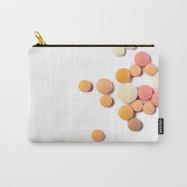 Drugs in the form of drugs on white background Carry-All Pouch