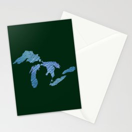 Great Lakes Stationery Cards