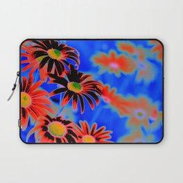 Daisy Art Blue Laptop Sleeve
