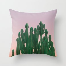 Wild Cactus Throw Pillow