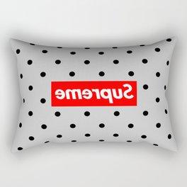 supreme polkadot Rectangular Pillow