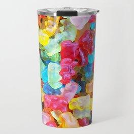 Gummy Bear Don't Care Travel Mug