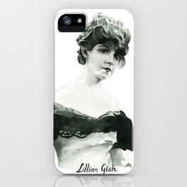 Lillian Gish iPhone Case