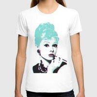 audrey hepburn T-shirts featuring AUDREY HEPBURN by Nuk_