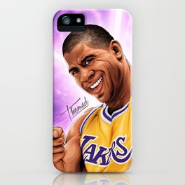 EARVING MAGIC JOHNSON iPhone Case