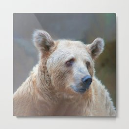 Bear Necessities      (digital painting) Metal Print