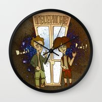 1989 Wall Clocks featuring Bill & Ted's Excellent Adventure (1989) by niles yosira