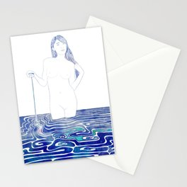 Water Nymph XC Stationery Cards