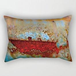 Under Fire Lake Rectangular Pillow
