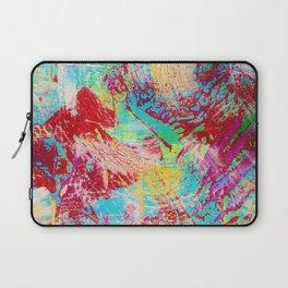 REEF STORM - Fun Bright BOLD Playful Rainbow Colors Underwater Ocean Reef Theme Coral Aquatic Life Laptop Sleeve