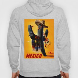 Vintage Mexico Cactus Travel Hoody