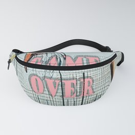game over Fanny Pack