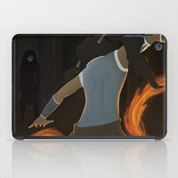 legend of korra iPad Cases featuring Korra by charcola