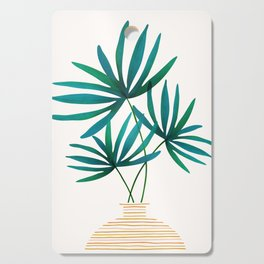 Tropical Palm Bouquet Cutting Board