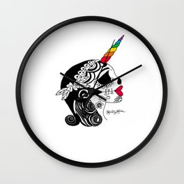 Shes a Unicorn Wall Clock