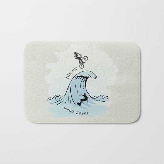 big air, mega waves Bath Mat