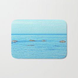 Circle of Rocks, The Cormorants and the Whale  Bath Mat