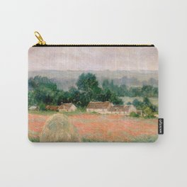 Haystack at Giverny by Claude Monet Carry-All Pouch