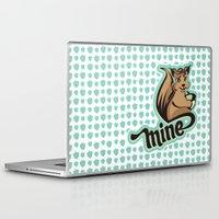 squirrel Laptop & iPad Skins featuring Squirrel by VessDSign