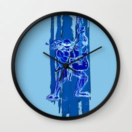 TMNT Rock: Leo Wall Clock