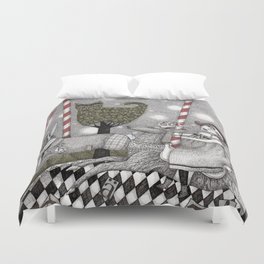 A is for Alice Duvet Cover