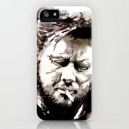 Shane McGowan iPhone Case