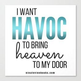 Havoc Canvas Print
