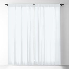 Ultra Light Pastel Blue Solid Color Pairs To Pantone P115-1 U Bleached Coral Blackout Curtain