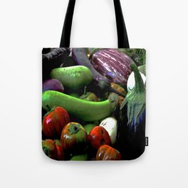 At the Farmer's Table Tote Bag