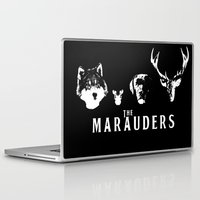 marauders Laptop & iPad Skins featuring The Marauders by pirateprincess