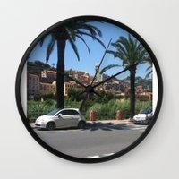 italy Wall Clocks featuring Italy by Logan Amick