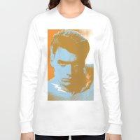 clint barton Long Sleeve T-shirts featuring clint by zemoamerica