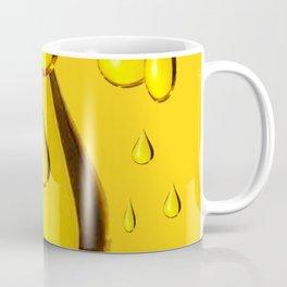 RICH GOLDEN HONEY DRIPPING ART Coffee Mug