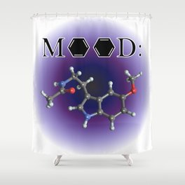 Mood - Melatonin Shower Curtain