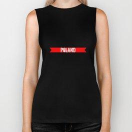 Poland Biker Tank