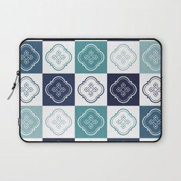Portuguese Tiles Pattern 2 Laptop Sleeve