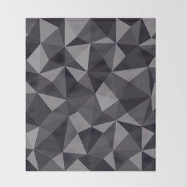 Geometric pyramids V7 Throw Blanket