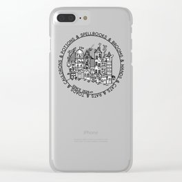 Wizard Shops 2 Clear iPhone Case