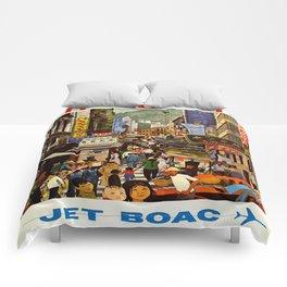 Vintage poster - Hong Kong Comforters