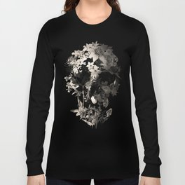 Spring Skull Monochrome Long Sleeve T-shirt