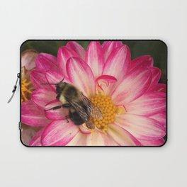 Bee Loved Dahlia Laptop Sleeve
