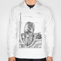knight Hoodies featuring Knight by Red Drago